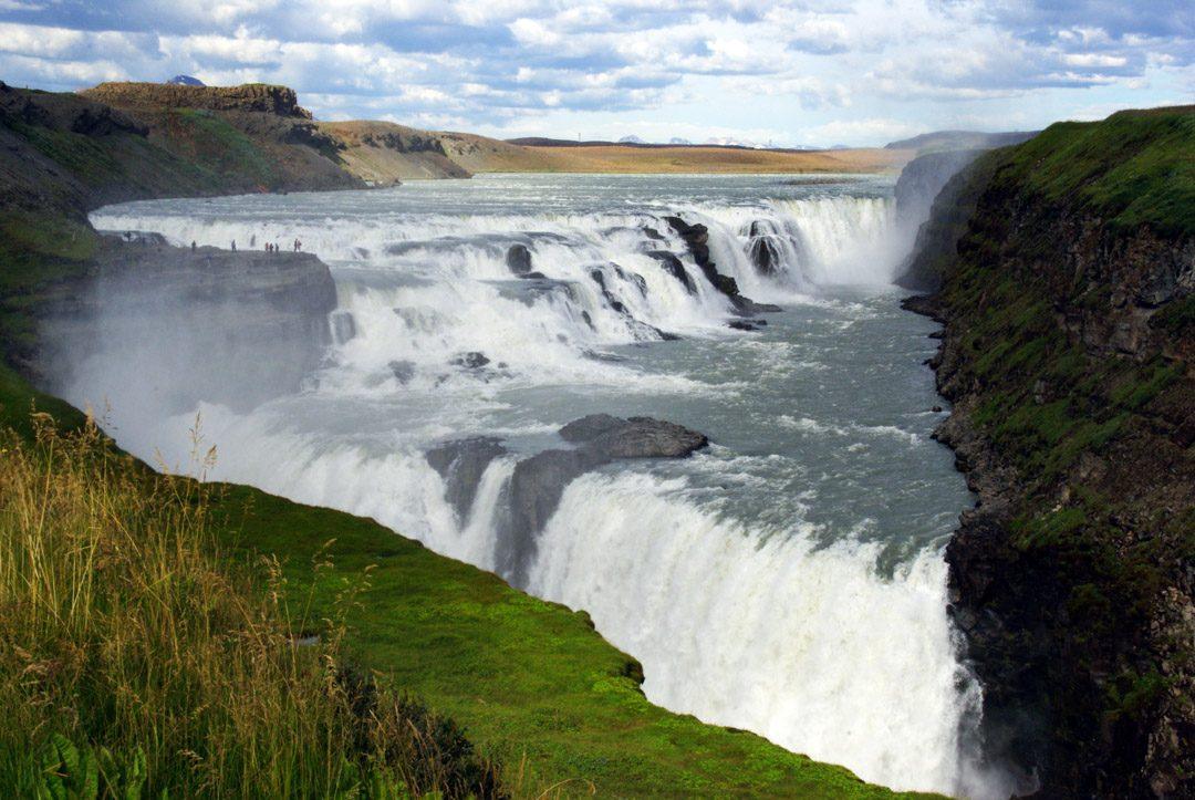 Cascade de Gullfoss - Cercle d'Or - Islande