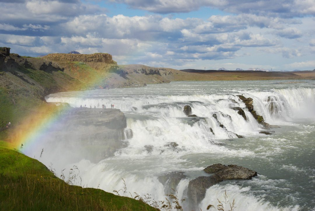Cascade de Gulfoss - Cercle d'Or - Islande