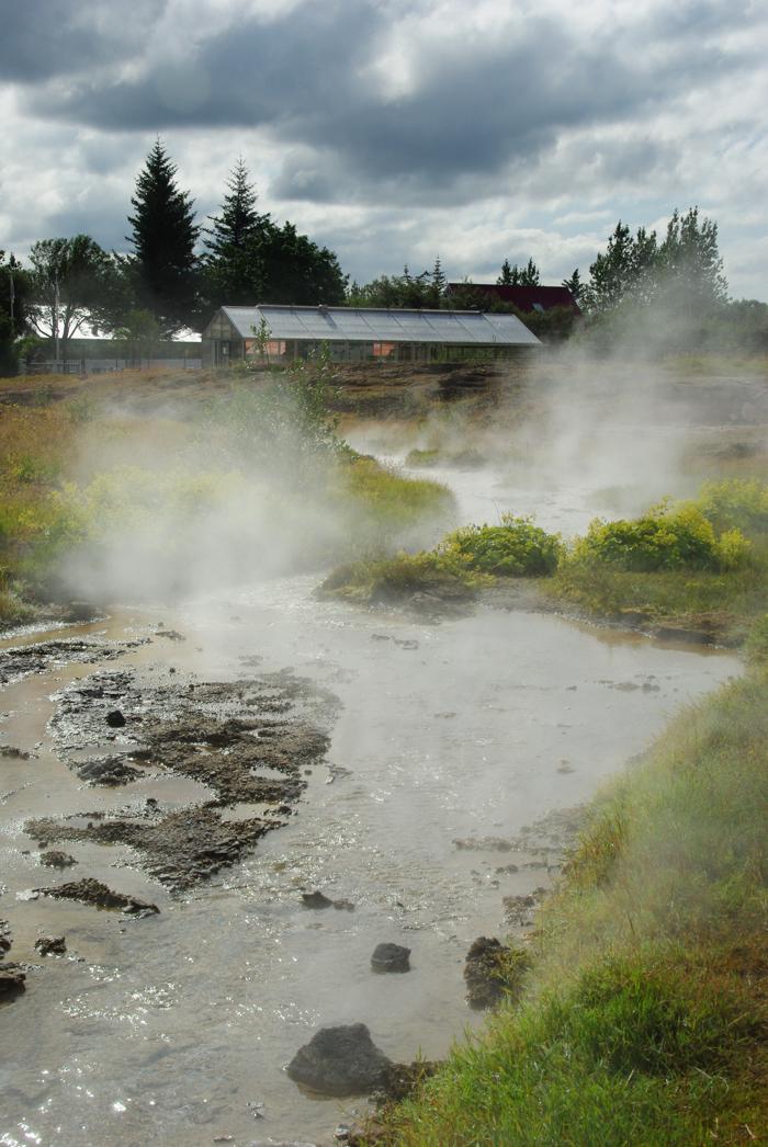 aire géothermique de Hvergerdi