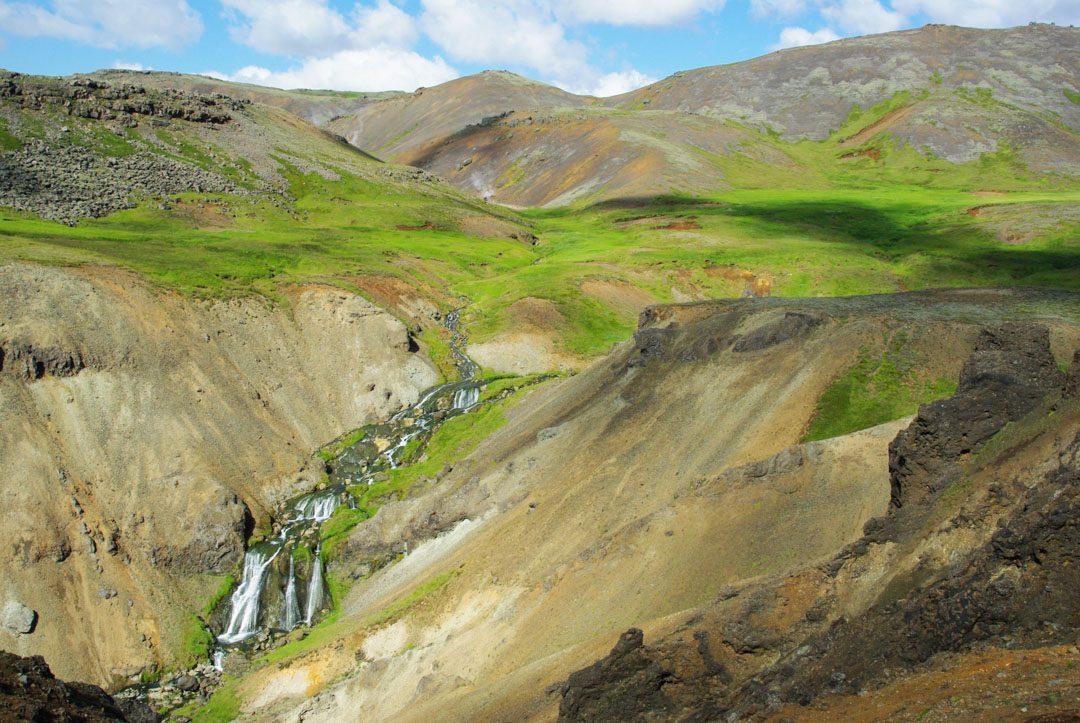 randonnée zone géothermique de Hveragerði - Islande