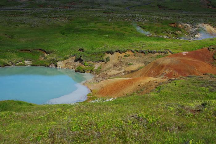 eau turquoise en islande