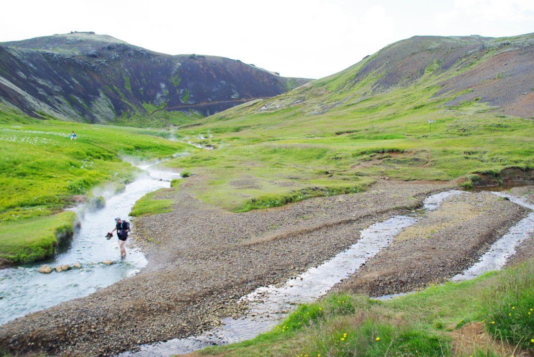 source chaude Hveragerði - Islande