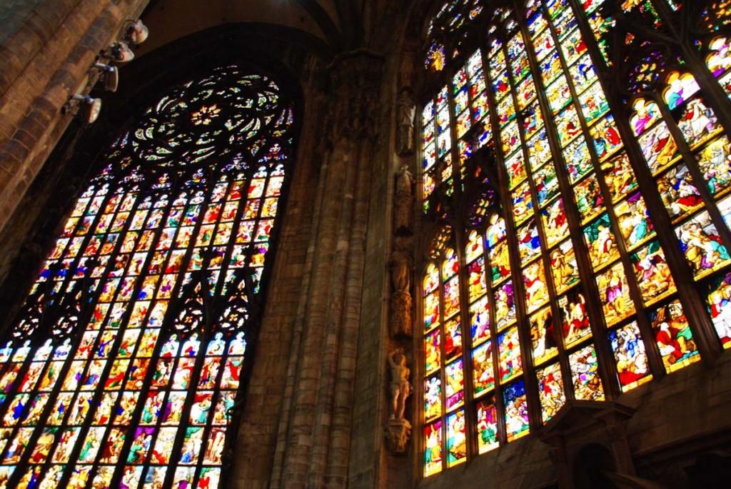 Vitraux du Duomo de Milan