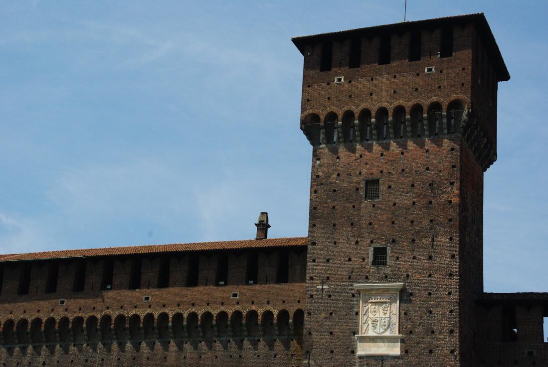 Château des Sforza - Milan