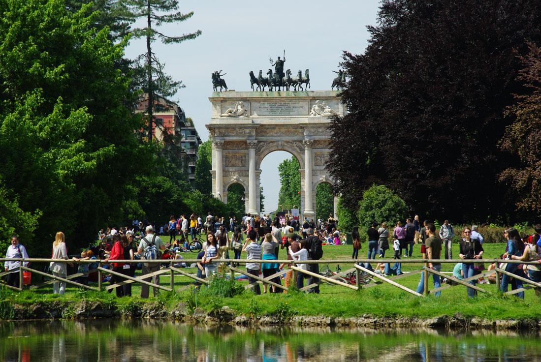 Arco della Pace - Parc Sempione - Milan