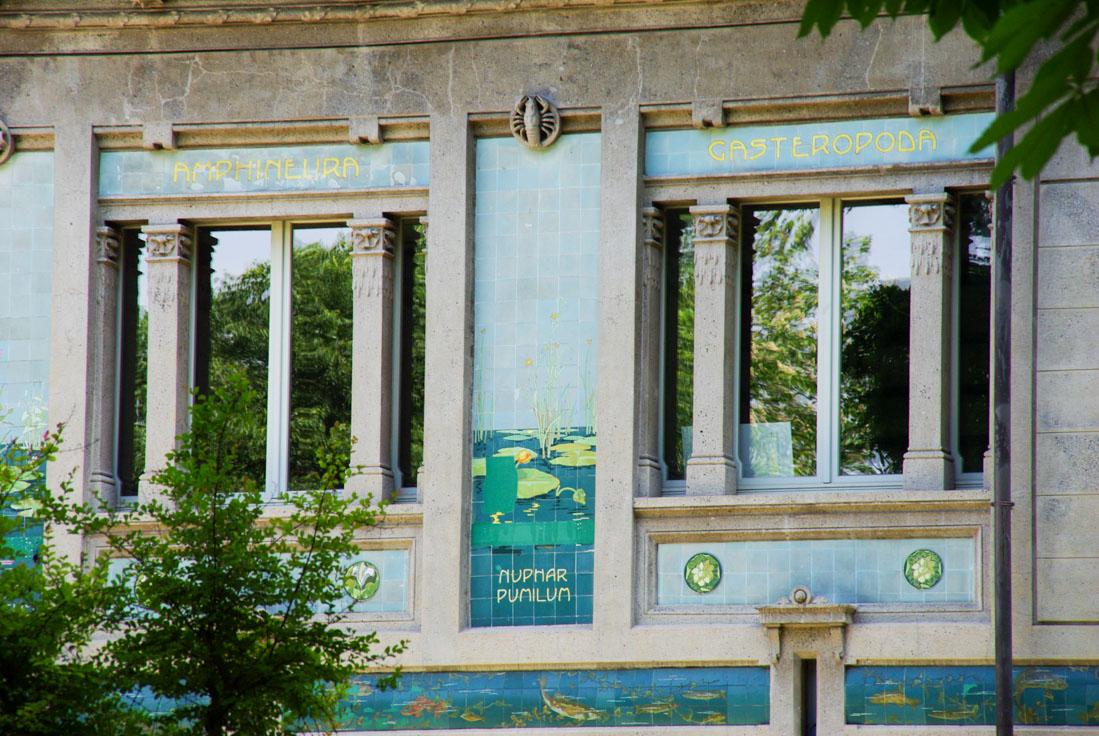 Aquarium art déco - Parc Sempione - Milan