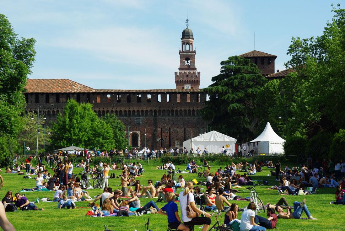 Parc Sempione - Milan