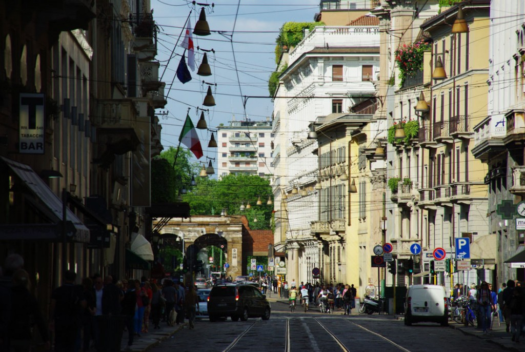 rue Montenapoleon - Milan
