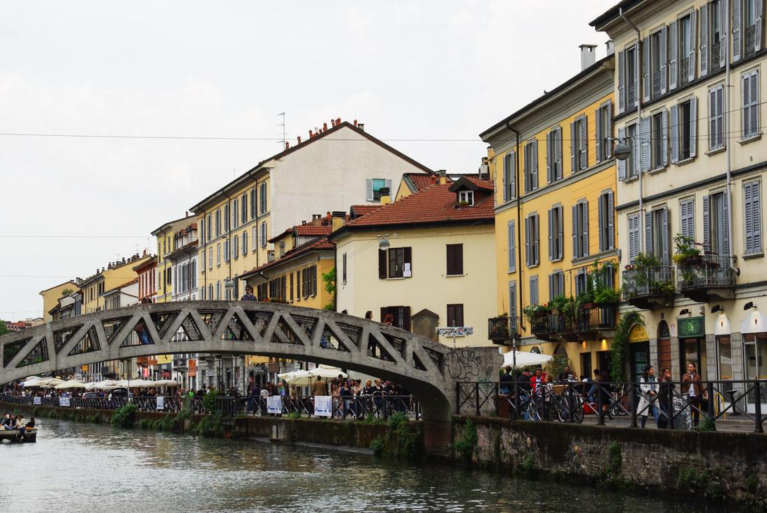 quartier des Navigli - Milan