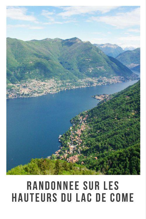 Randonnée sur les hauteurs du lac de Côme : itinéraire au départ du phare de Brunate