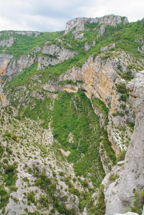 paysage du parc régional du Verdon
