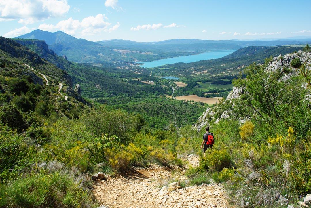 3 idées de randonnées au départ de Moustiers-Sainte-Marie dans le Verdon