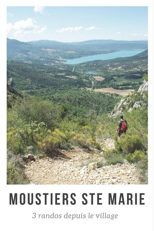 3 randonnées au départ de Moustiers Sainte Marie pour explorer la région du Verdon et les environs du Lac de Sainte Croix