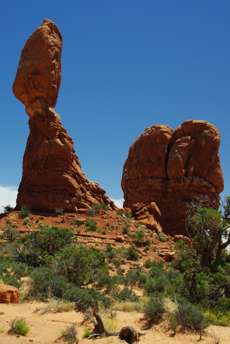 balanced rock - Arches national Park