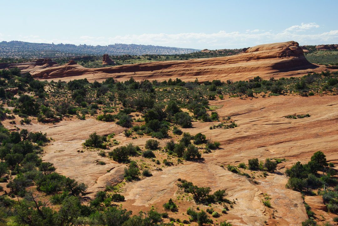 paysage désertique - Arches National Park - Utah