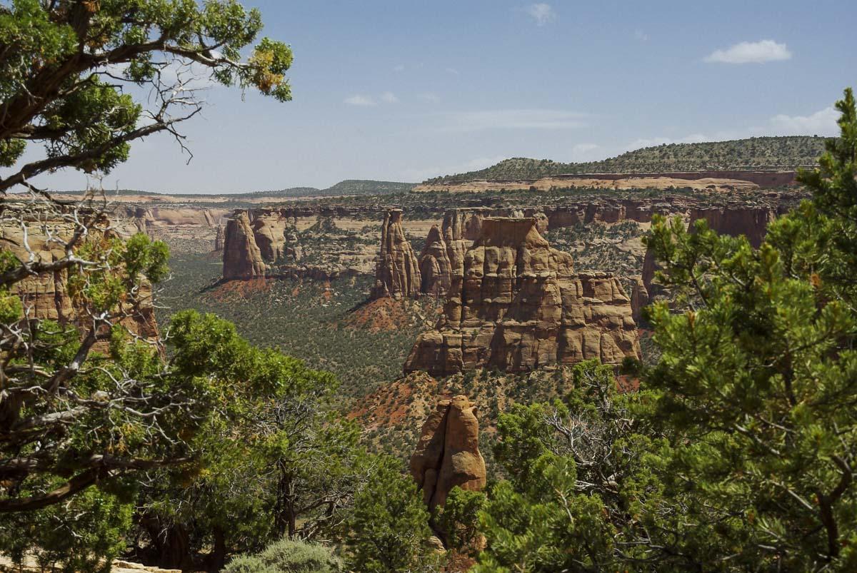 Point de vue Window Rock Trail - Colorado National Monument