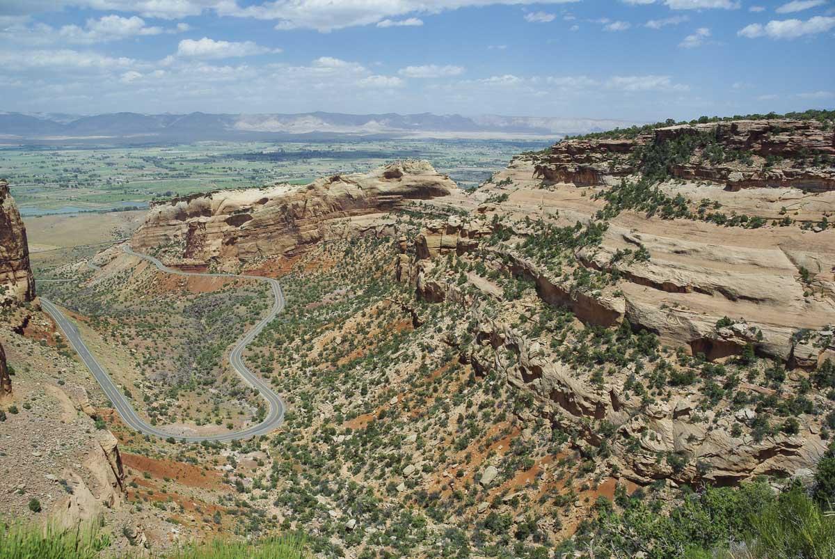 Rock Rim Drive : la route scénique qui traverse le Colorado National Monument