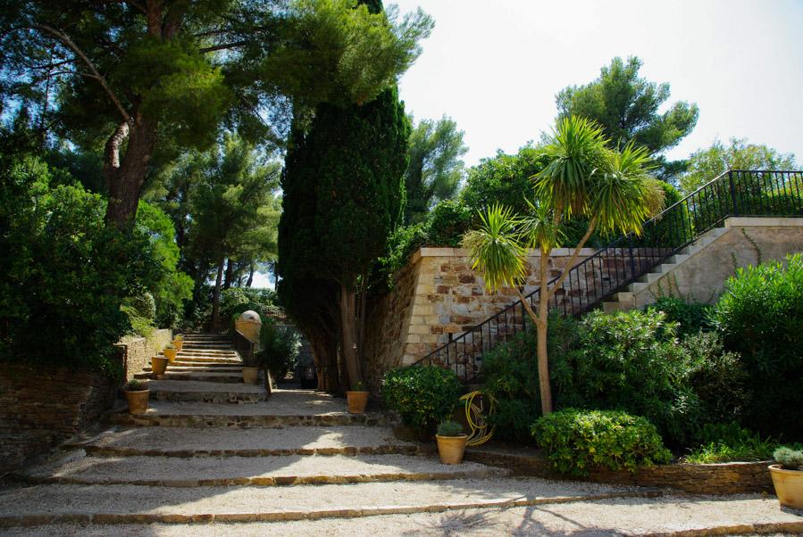 Les jardins de Brégançon