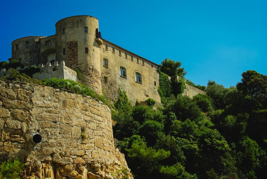 Visite du Fort de Brégançon