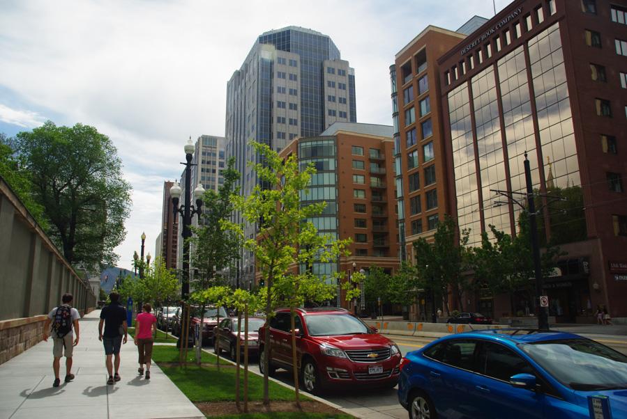 Centre-ville de Salt Lake City - Utah