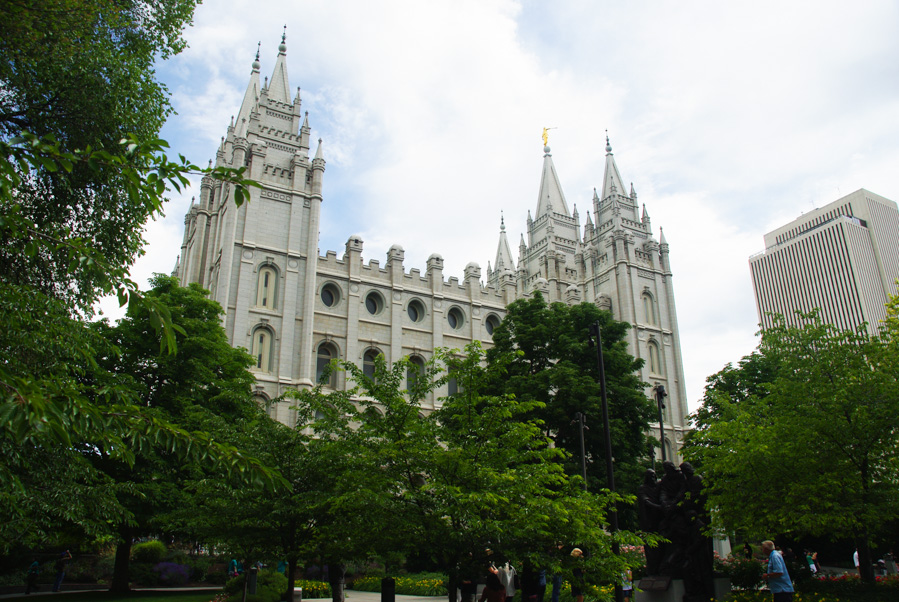 Temple Square à Salt Lake City