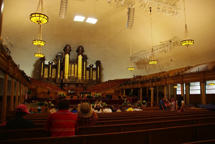 Intérieur du tabernacle