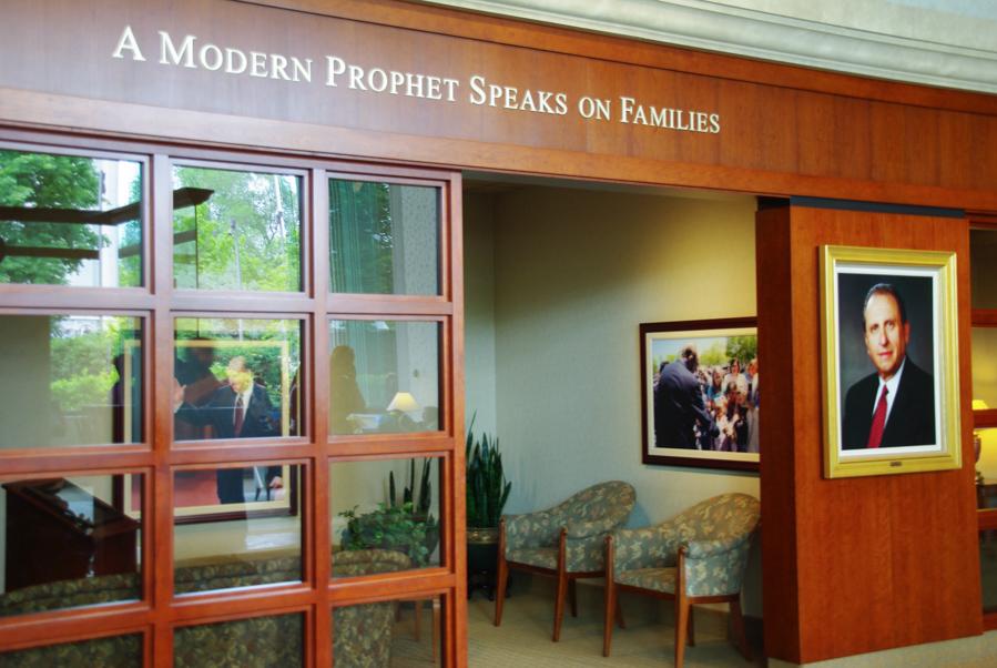 Le prophète mormon - Visite de Salt Lake City