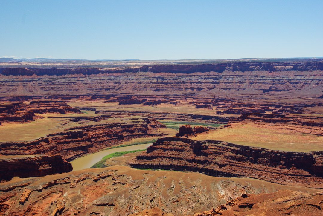 Riviere du Colorado en contrebas de Dead Horse Point