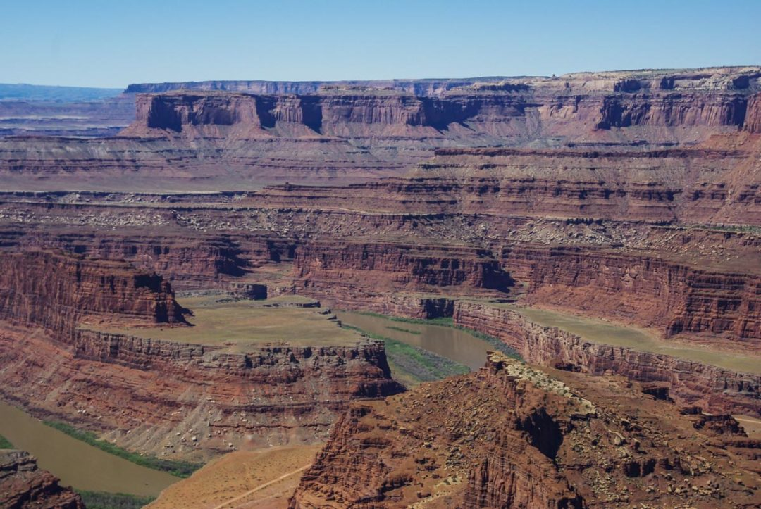 Panorama sur le Colorado depuis Dead Horse Point State Park