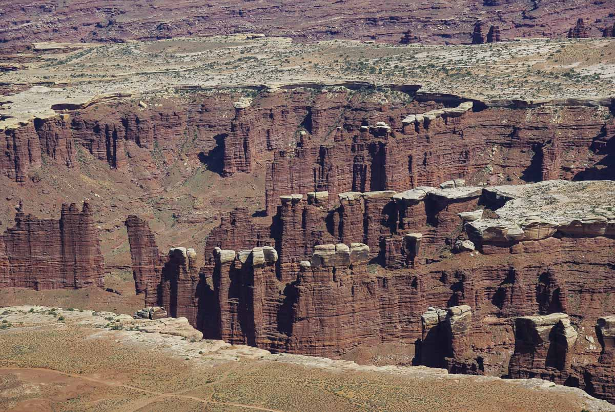 canyonlands national park : detail