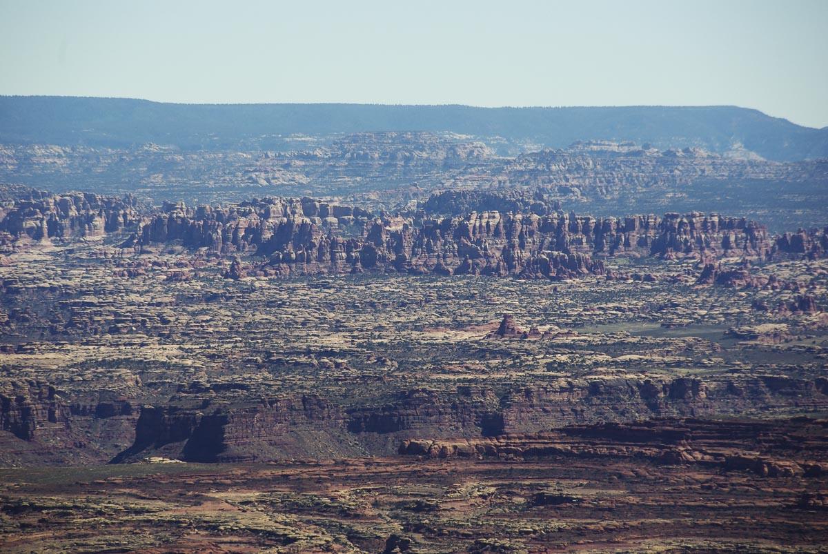 Vue sur les Needles - Canyonlands