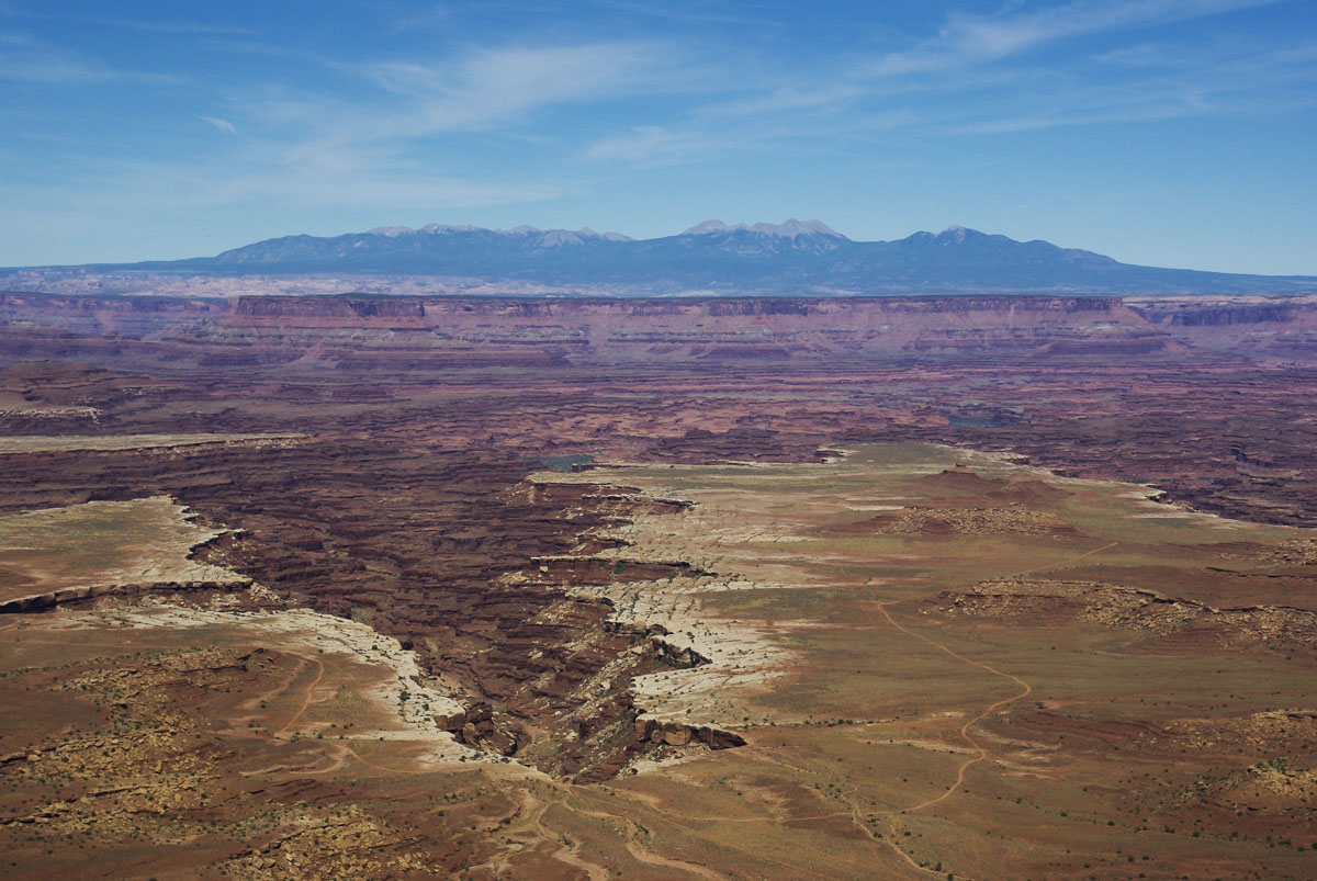 Panorama depuis Buck Canyon Overlook - Canyonlands National Park