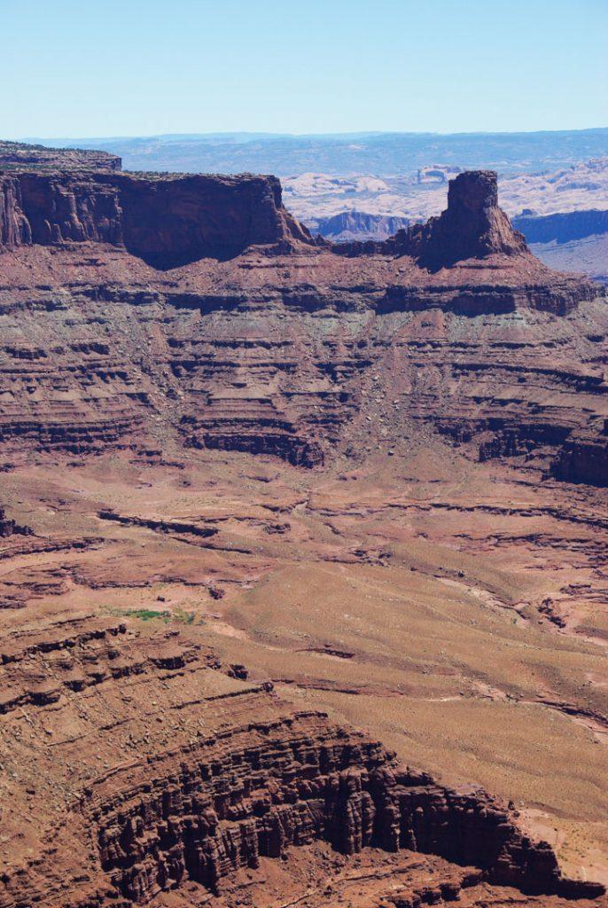 Panorama sur le Parc de Dead Horse Point - Utah