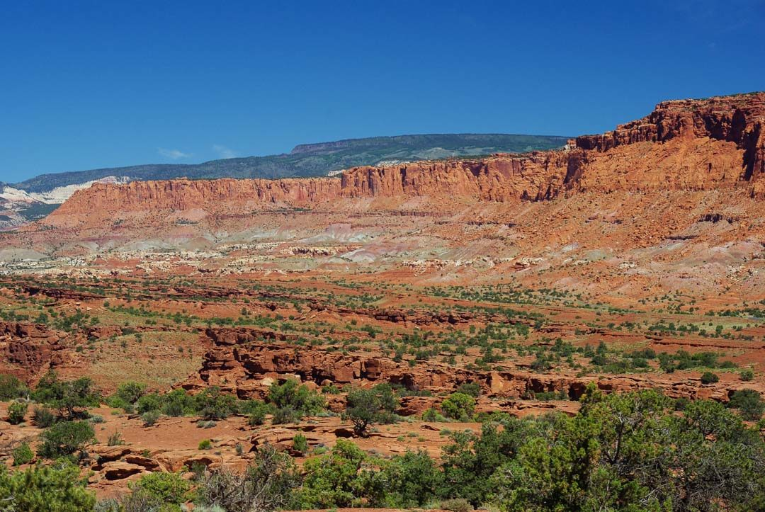 Panorama Point - Capitol Reef National Park