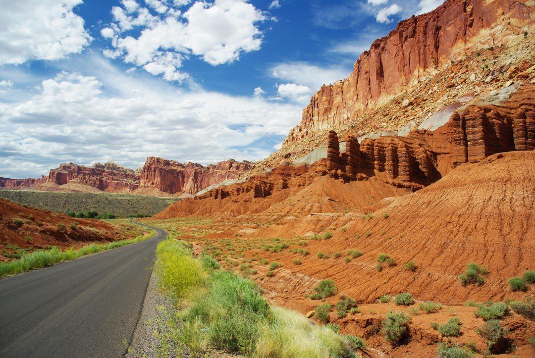 Scenic Drive - Capitol Reef National Park - Utah