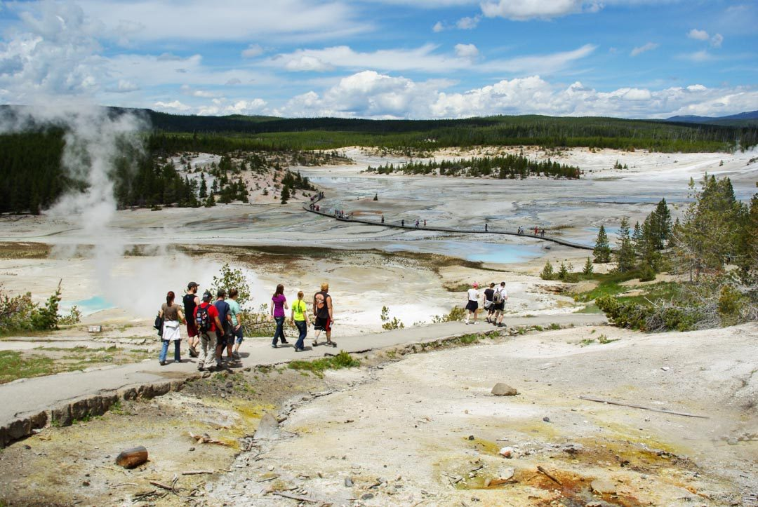 Norris Geyser Bassin - Parc National de Yellowstone