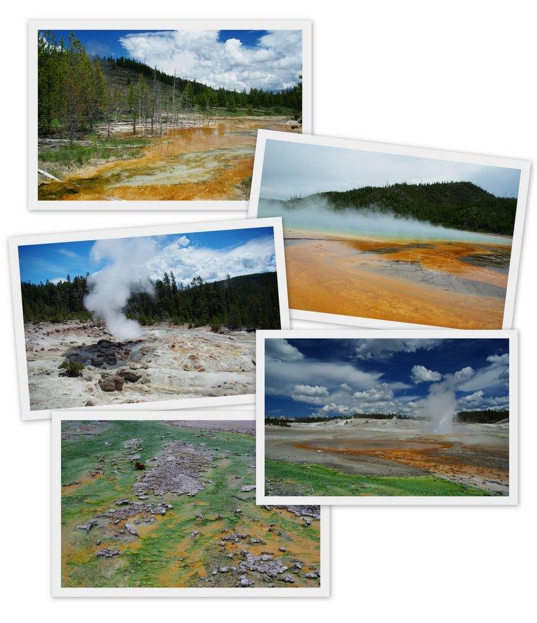 geyser country yellowstone
