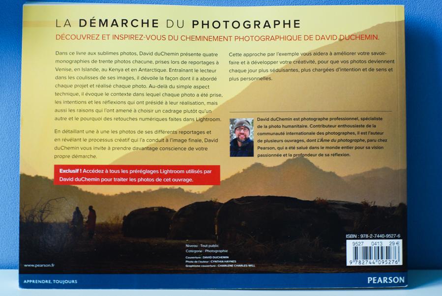 La démarche du photographe - verso