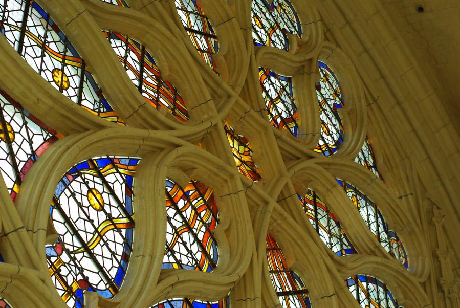Vitraux de la sainte chapelle de Vincennes