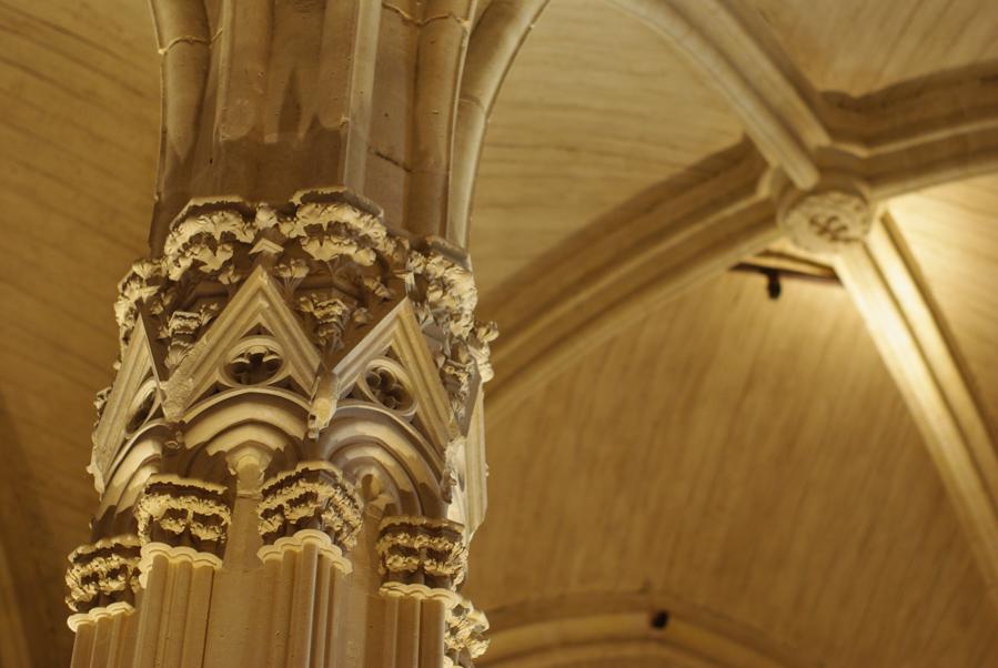 voute à l'intérieur du donjon de Vincennes