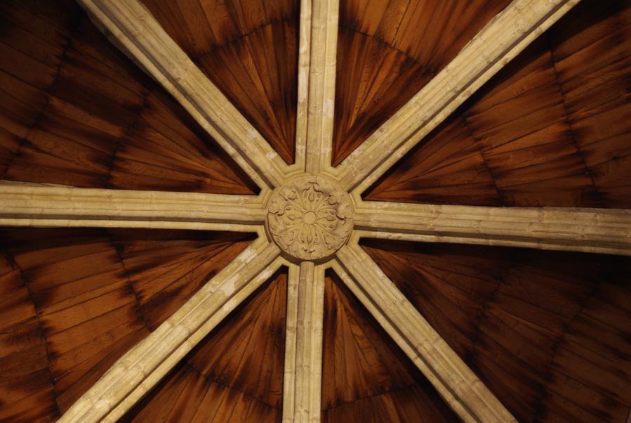 voute - donjon du château de Vincennes
