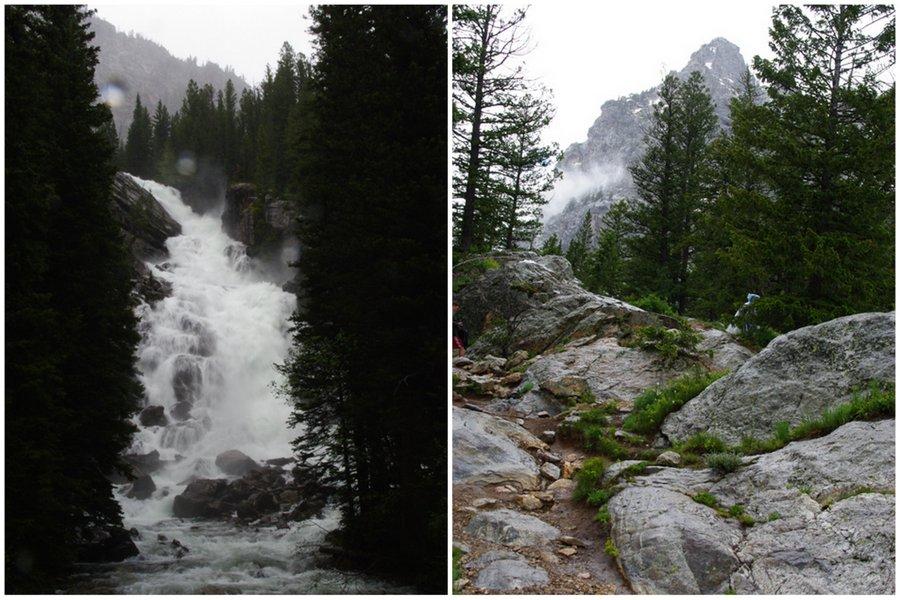 Hidden Falls - Grand Teton National Park