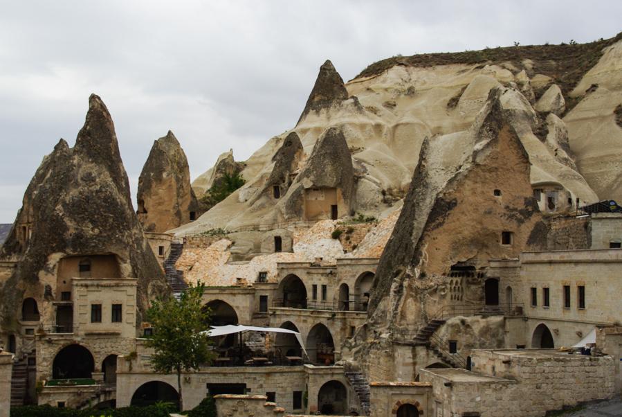 hotel troglodytes à Göreme - Cappadoce