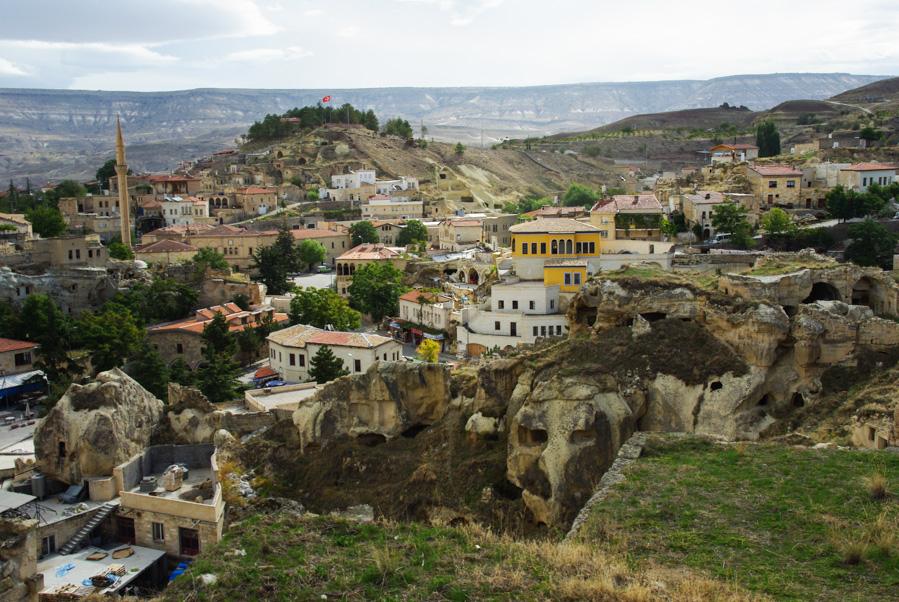 village de Mustafapasa en Cappadoce