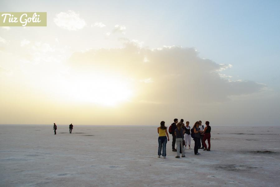 Lac Salé de Tuz Colu en Cappadoce - Turquie