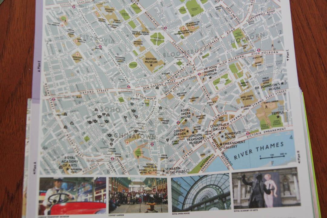 intérieur guide cartoville de Londres
