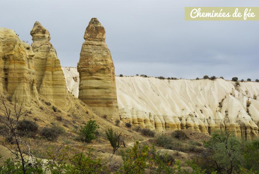 Cheminées de fée en Cappadoce - Turquie