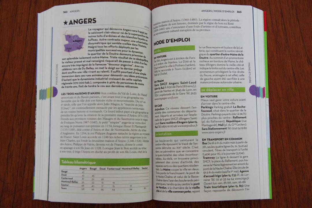 Guide Géo Pays de la Loire - Angers
