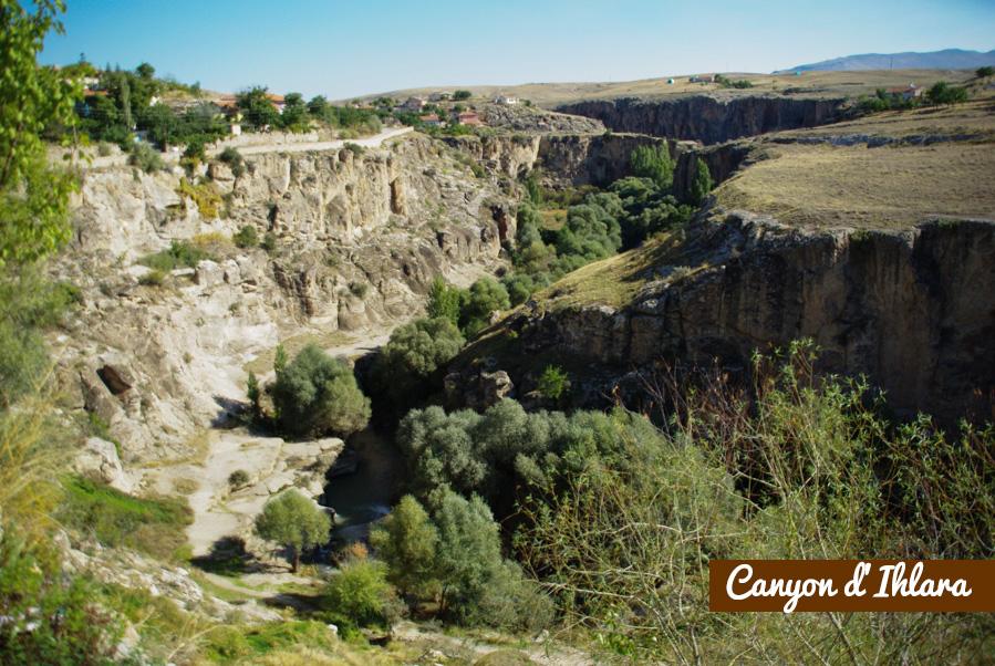 canyon d'Ihlara - cappadoce - Turquie