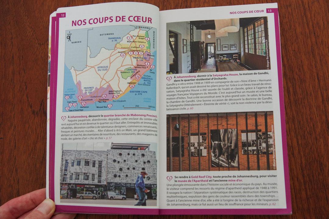 les nouvelles pages en couleur du guide du routard